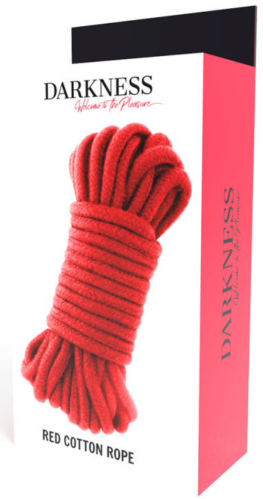 Darkness Kinbaku Rope Red 10 m