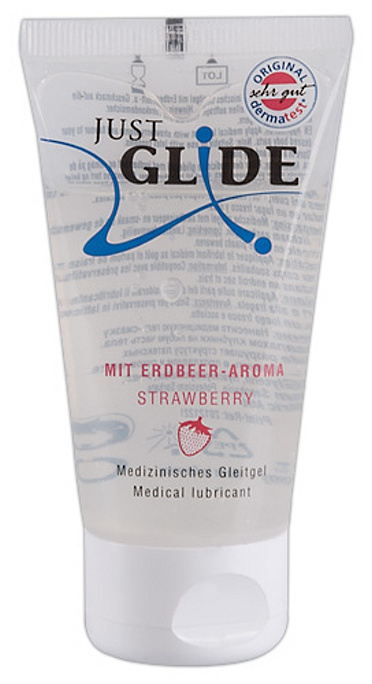 "LUBRIKAČNÍ GEL Just Glide ""Strawberry"" 50 ml"
