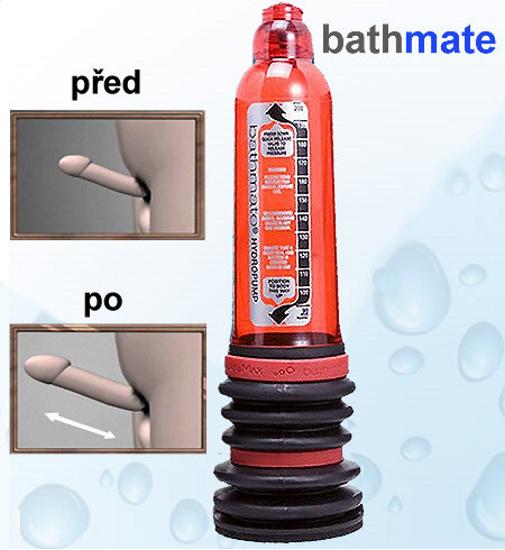 Vakuová vodní pumpa Bathmate