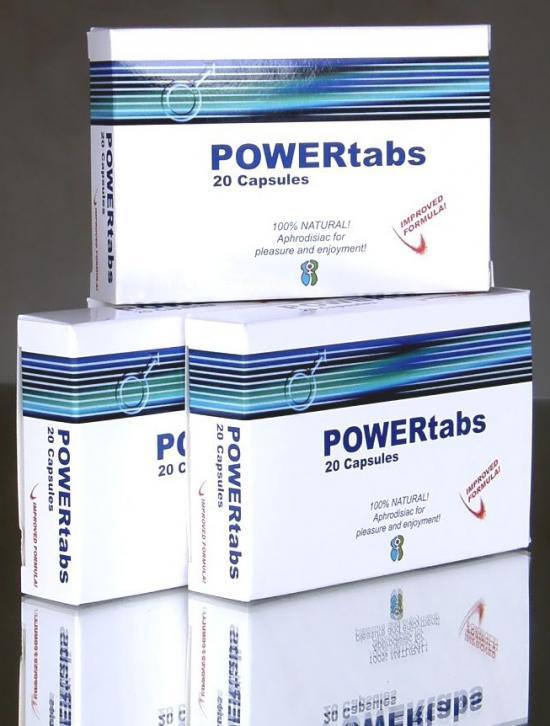 2 X Power Tabs 20 tbl. s DOPRAVOU Českou poštou ZDARMA !