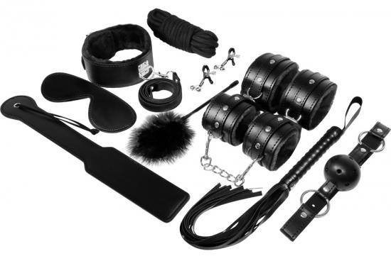Experience Bdsm Fetish Kit Black Serie