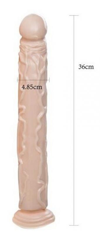 Realistic Dildo Flesh Diamond 36cm
