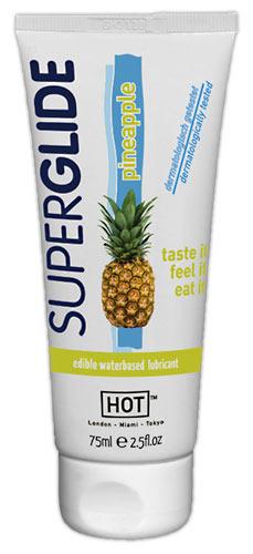 Jedlý lubrikační gel s příchutí ananasu,75 ml