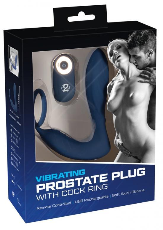 Vibrating Prostate Plug with C