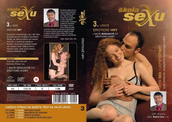 Erotické hry - Škola sexu DVD 3