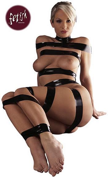 Bondage páska černá,18 m