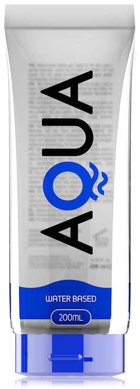 Aqua Quality Waterbased Lubricant 200ml