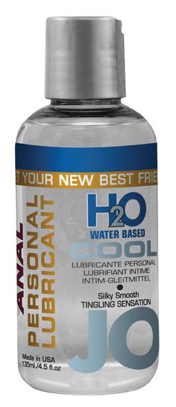 Anální lubrikační gel JO H2O Cool na vodní bázi 75 ml