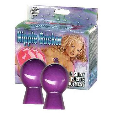 NMC Nipple Sucker Pair in Shiny Pink - Přísavky na bradavky
