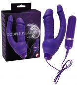Dvojitý vibrátor Double Pleasure Vibe