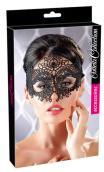 Embroidered Mask - černá maska