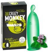 The Crazy Monkey Condoms Fresh-Mint! 12ks