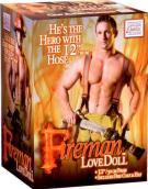 Nafukovací panák hasič Fireman Lovedoll s doplňky