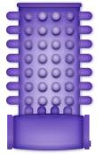 Casual Ring Vibrating Sleeve Purple
