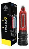 Bathmate Hydro7 vakuová pumpa pro muže - červená