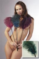 Fetish Collection Turquoise feather