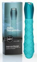 Key by Jopen Ceres Lace Massager Blue