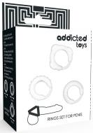Addicted Toys C-Ring Set Clear