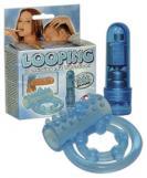 Vibrační kroužek modrý Looping Pen