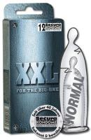 Velké kondomy XXL 12 ks
