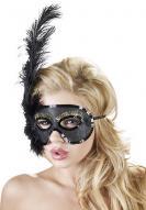černá maska na oči