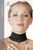 Halsband Anhänger krajkový pás kolem krku