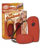 Lust control - vibrační vajíčko na dálkové ovládání