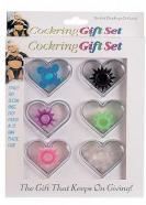 Sada 6 škrtících kroužků Cockring Gift Set