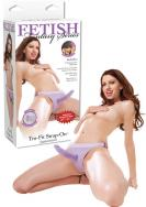 Fetish Fantasy Tru-Fit Strap-On purple