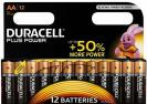 Duracell Plus Power Battery AA LR6 12ks