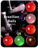 6 Hot Balls Lubricante Fruits