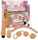 Erotická sada tělové barvy - Nature Skin Lovers Kit