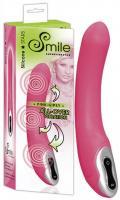 Silikonový vibrátor Smile Gipsy neon pink