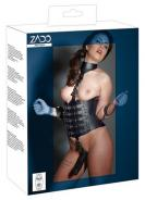 Leather Harness with Dildo S/M