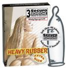 Secura Heavy Rubber 3 ks