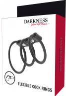 Darkness Triple Cock Ring Set