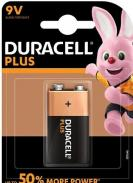 Duracell Plus Power Battery 9V LR61 1ks