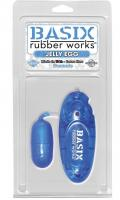 Basix Rubber Works Jelly Egg blue