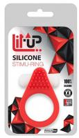 Lit Up Silicone Stimu Ring 1 Red