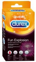 Kondomy Durex Fun Explosion 10er