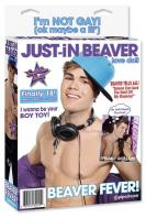 """Nafukovací panák """"Just-in Beaver"""""""