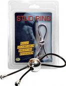 Stud Ring Black
