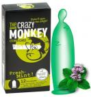 The Crazy Monkey Condoms Fresh-Mint! 12ks