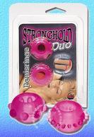Kroužky na penis růžové - 2 kusy