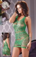 Net Dress Green vel.S-L