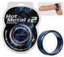 Hot Metal Ring Blue