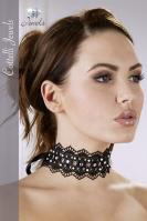 Choker with Rhinestones