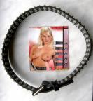 Masivní kožený opasek pro ženy,87 cm
