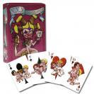Hrací karty s kreslenými porno-motivy