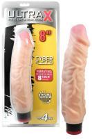 "Ultra X Vibrator - Cyber Skin 8"""
